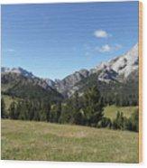 Durrenstein, Dolomites, Italy Wood Print