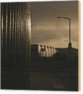 Duskington Wood Print