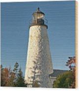 Dyce Head Lighthouse Wood Print
