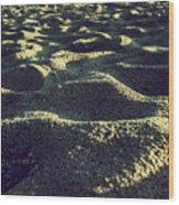 Sand Wood Print