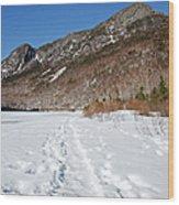 Eagle Cliff  - White Mountains New Hampshire Usa Wood Print