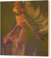 Eagle Dancer Wood Print