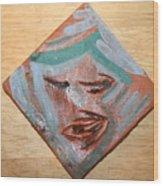 East - Tile Wood Print