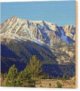Eastern Sierras Wood Print