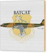 Ec-121r Batcat 6721498 Wood Print