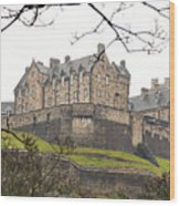 Edinburgh Castle Wood Print