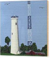 Egmont Key Lighthouse Wood Print