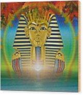 Egyptian Wisdom Wood Print