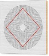 Ehrenstein Illusion Wood Print