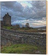 Eilean Donan Castle In The Morning Light Wood Print