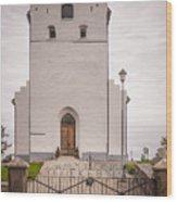 Ekeby Kyrka Wood Print