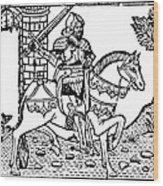 El Cid Campeador (c1040-1099) Wood Print