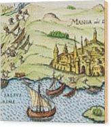 El Dorado, 1599 Wood Print