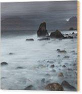 Elgol Beach Wood Print
