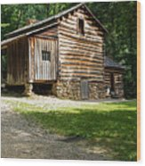 Elijah Oliver Place Wood Print