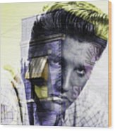 Elvis Presley Sun Studio Collection Wood Print