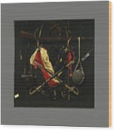 Emblems Of The Civil War Wood Print