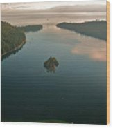 Emerald Bay Lake Tahoe Wood Print