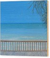 Emerald Coast Wood Print