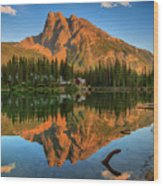 Emerald Lake - Yoho National Park Wood Print