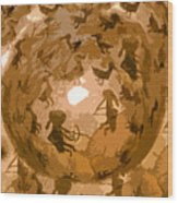 Emergence Wood Print