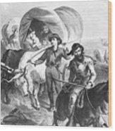Emigrants To West, 1874 Wood Print
