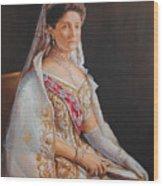 Empress Alexandra Feodorovna Of Russia Wood Print