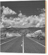 Endless Wyoming  Wood Print