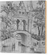 Entrance Into Sneek Wood Print