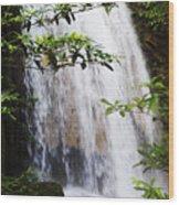 Erawan National Park Wood Print