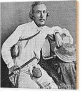 Ernst Haeckel, Naturalist And Artist Wood Print