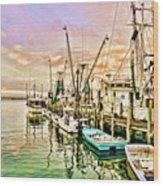 Everett Seafood Wood Print