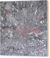 Explosive  Wood Print