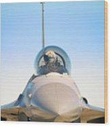 F-16 Fighting Falcon Wood Print
