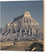 Factory Butte 0562 Wood Print