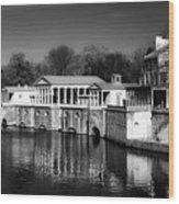 Fairmount Water Works - Philadelpha Wood Print