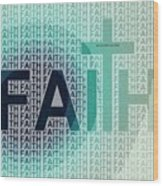Faith - The Lord God Of Israel Wood Print
