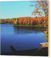 Fall In Northern Wisconsin Wood Print