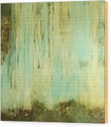 Falling Water Series Wood Print