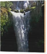 Falls Creek Falls Wood Print