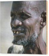 Farmer In Ethiopia Wood Print