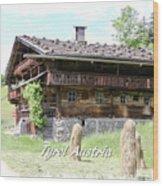 Farmhouse Wood Print