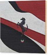 Ferrari Blend Wood Print