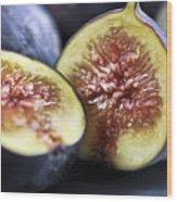 Figs Wood Print by Elena Elisseeva