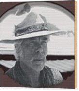 Film Homage Lee Marvin Monte Walsh Collage Variation 2 Old Tucson Arizona 1969-2012 Wood Print