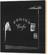 Film Noir Out Of The Past 1947 Pekin's Cafe Leveled Shortly Part Of Urban Renewal Tucson Az '67-'08 Wood Print