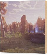 Final Fantasy Xiv A Realm Reborn Wood Print