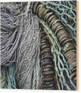 Fish Netting Husavik Iceland 3755 Wood Print