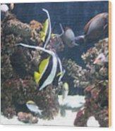 Fishes Wood Print