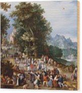 Flemish Fair Wood Print
